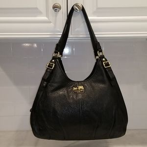 Coach Maggie Madison Leather Hobo Shoulder Bag